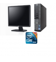DELL Optiplex 790 CORE I 5-2400-3.1GHZ-RAM4GB-HDD 500G+ LCD DELL 19INCH