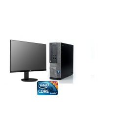 DELL-I5-4570-3.2GHZ-8GB-SSD240GB+LCD 24 ""