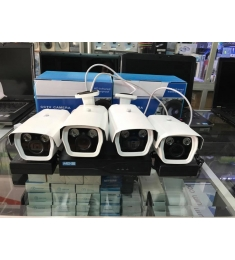 BỘ 4  CAMERA IP 4.0MB-ZOOM 4X
